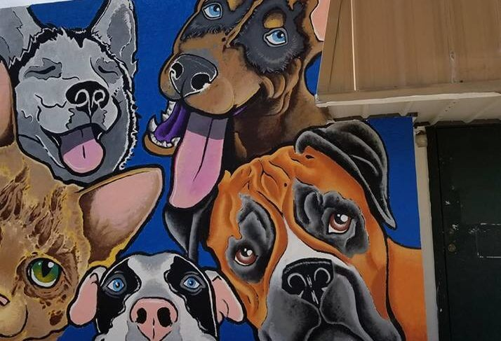 Vidor Animal Shelter Mural